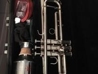 Yamaha trumpet model YTR 4335g The price at 1500 asking