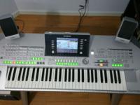 Yamaha Tyros 2 keyboard set for sale. Includes: 1.