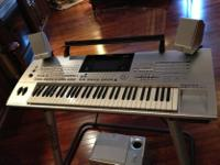 Type: Drums THIS IS A TYROS KEYBOARD FOR SALE.ONE OWNER
