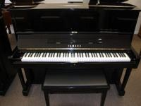 This piano has been totally refurbished in 2013 in