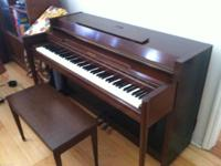We are moving and should sale our rather piano. It