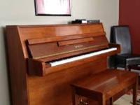 Yamaha upright Disklavier player piano - beautiful
