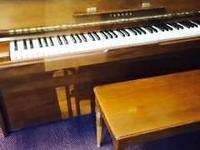 Yamaha Upright Studio Piano No.M1 Contact Amy at  or