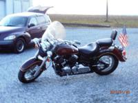 1998 V-STAR CLASSIC 650 SHAFT DRIVE, WITH YAMAHA