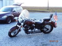 V-STAR CLASSIC 650 SHAFT DRIVE ONE OWNER PAMPERED AND