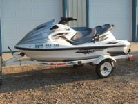 2001 Yamaha Wave Runner  XLT1200 155 HP , This ski is