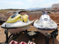 Here are two Yamaha wave runners. One is a '95 wave