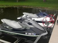 2011 Yamaha Wave Runners (LX Deluxe) , lifts and