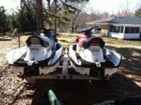 I have a set of Yamaha waverunners. A dark