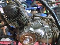Parting out a 2000 Yamaha Wolverine 350. Many good
