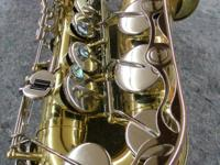 Type: SaxophoneType: AltoThis is a spectacular