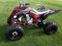 "2004 Yamaha YFZ 450 $3695 2009 Raptor 350 ""SE"" $3295"