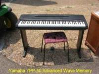Yamaha YPP-50 Piano / Organ with Advanced Wave Memory