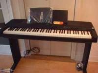 Yamaha ypp 55_ exc. cont., plays great my # is  asking