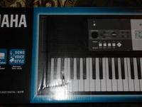 Yamaha YPT-230 61-Key Portable Keyboard - Brand new!