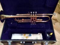 Utilized Yamaha YTR Bb Trumpet, in wonderful condition.