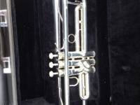 This is a very high quality trumpet. New it retails for
