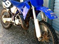 '00 Yamaha yz 125 with less than 3 hours on top and