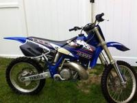 2000 Yamaha YZ 250 with TITLE. This bike is ready for