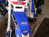 Yamaha YZ85, PR2 Suspension, PR2 motor, Talon wheels,