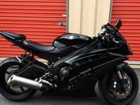 2012 Yamaha YZF R6 Black Raven Edition