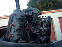 Parting out 1995 Yamaha 225, 250 hp two stroke 25 inch