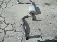 This exhaust was pulled off my 2007 RoadStar after