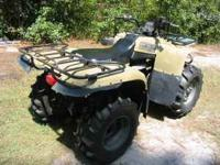 yamaha big bear four wheeler , big bear 400 4x4, like