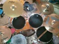 I am selling a Yamaha Dp series drum set. I believe its