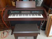 Yamaha Organ SK-100 Electric The dimensions are: 41""