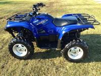 2008 Yamaha Grizzly 350 4x4 $4495 2007 Grizzly 450 4x4