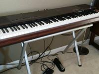 I have a Yamaha PF15 88 Key Wood Weighted Keyboard, A