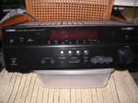 State of the art Yamaha A/V Receiver RX-475 with