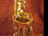 A beautiful saxophone with a SWEET sound! Mint