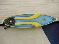 I've got a Yancey Spencer designed Innerlight surfboard