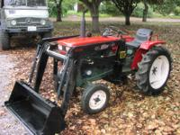 Great running tractor, we just installed a brand new