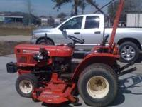 ONE 187 YANMAR FARM TRACTOR FOR SALE IT IS NOT A GRAY