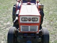 Yanmar YM 165 diesel tractor & Yanmar 4' finish mower -