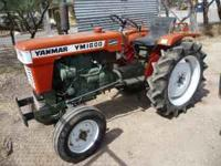 This tractor is DIESEL powered and in excellent working