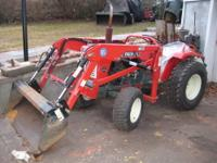 FOR SALE IS A YANMAR YM1500D COMPACT TRACTOR, 4X4