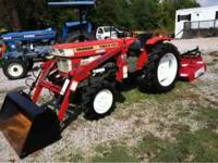4WD, loader, new 4' cutter. Will trade for other farm