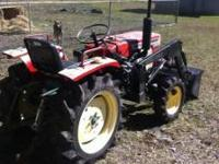 Yanmar 1500D 4x4 18hp 2cylinder compact diesel tractor.