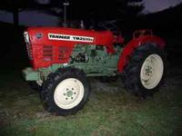 Yanmar YM 2610D four wheel drive, compact, 31 hp