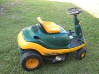 "Yardbug by MTD, Mini Riding Lawnmower 30"" cut 9HP"