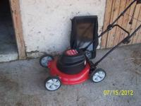 "Yard Machine 19"" Electric Lawn Mower Great for small"