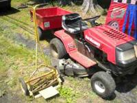 ride on yard machine 12.5 hp briggs & stratton