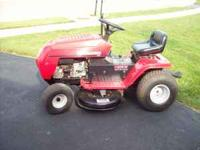 Riding lawn mower. 13.5 hp 38inch deck. Body in