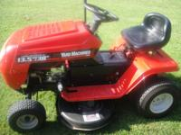 "yard machine riding lawn mower. 13.5 hp motor 38"" deck"