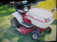 yard machine gold, lawn tractor.17.5 briggs motor,42""