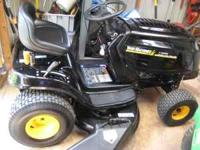 VERY WELL CARE FOR RIDING MOWER , $574.00.CALL ,CELL .